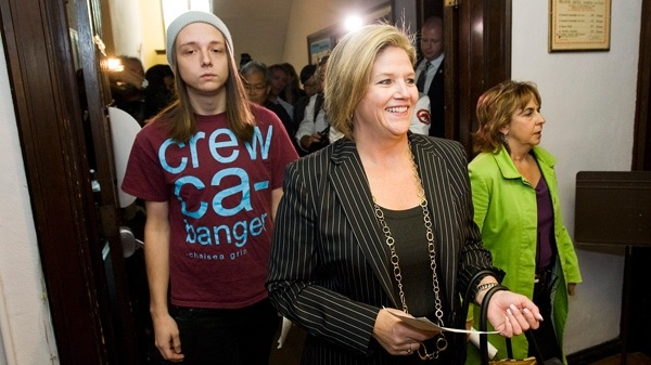 Andrea Horwath son