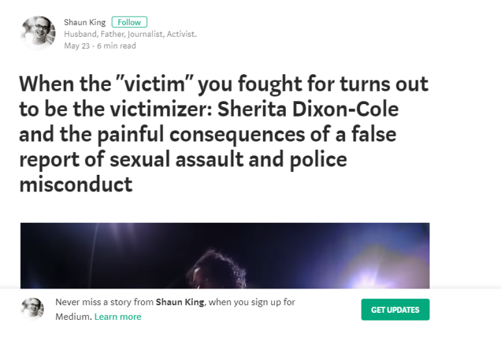 "When the ""victim"" you fought for turns out to be the victimizer_ Sherita Dixon-Cole and the painful… - Google Chrome 2018-05-24 12_14_20 PM"